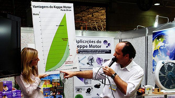 keppe-motor-eco-business-2009-sao-paulo inovações em Sustentabilidade tecnologia