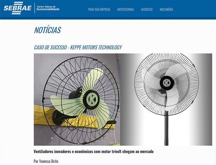 Caso De Sucesso Keppe Motors Technology Sebrae border=